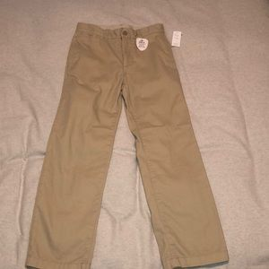 Gap Kids Uniform Straight Khakis with Gap Shield